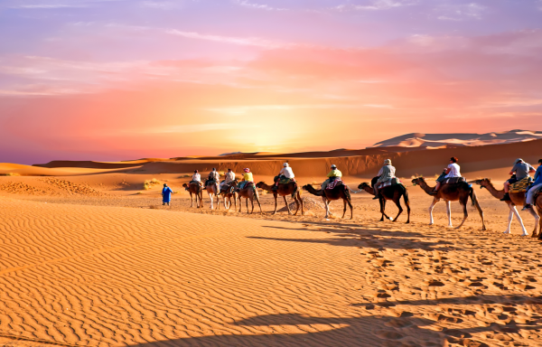 4 DAYS TRIP DESERT TOUR FROM FES