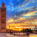 Koutoubia-mosque-at-an-amazing-sunset.-Marrakesh-Morocco