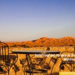 hotel-roof-top-terrace-in-Sahara-desert,-Morocco